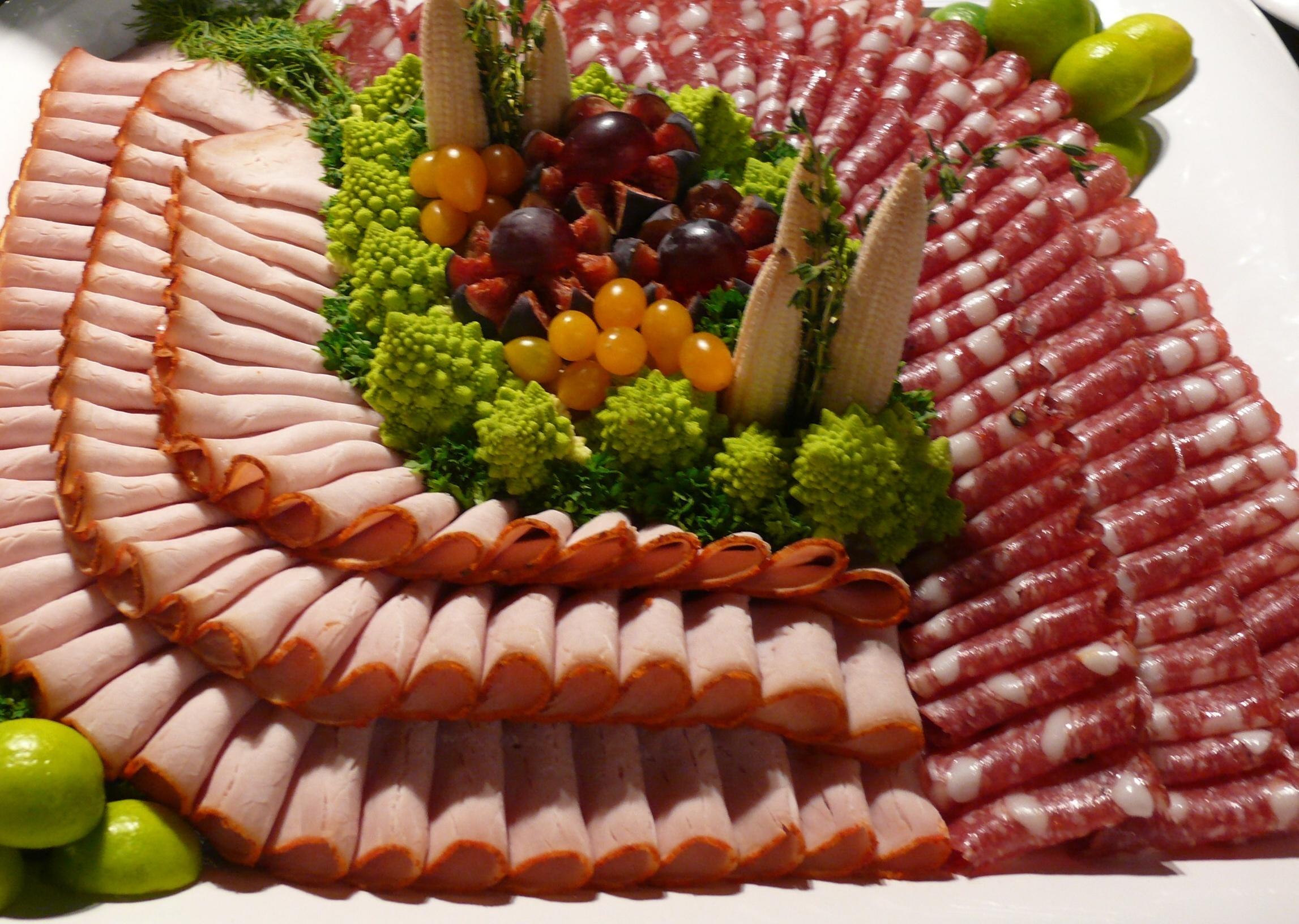 Пошаговое фото украшение блюд